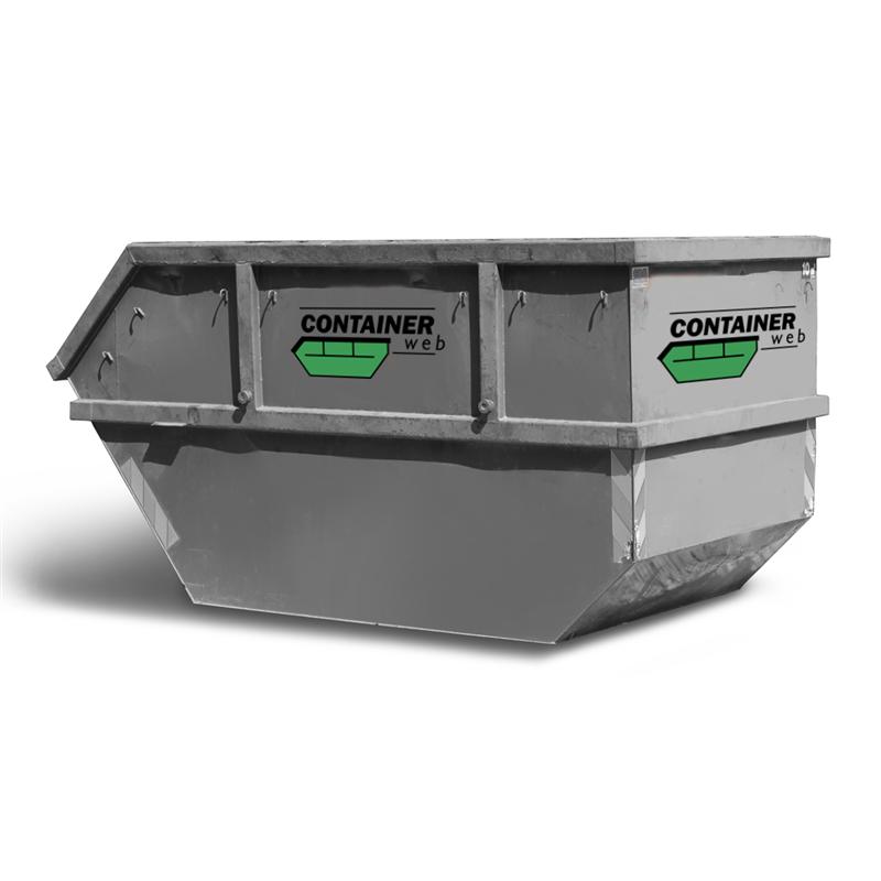 10 kubikk åpen container