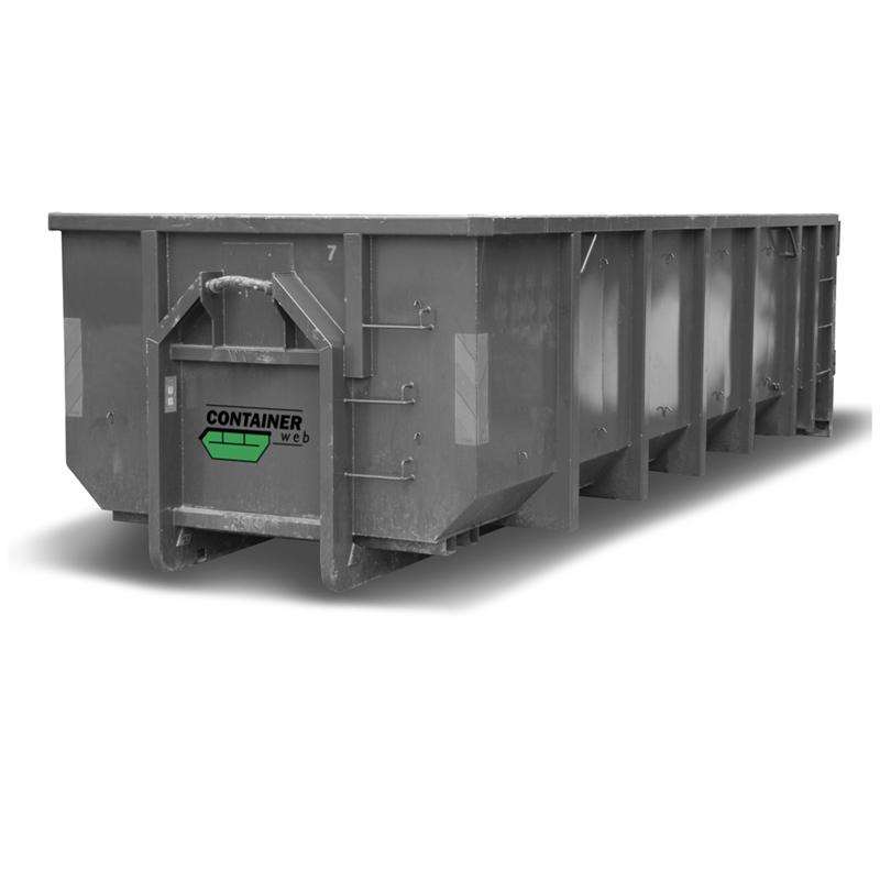 22 kubikk åpen container