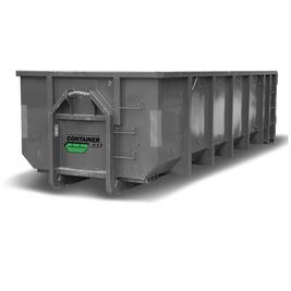 40 kubikk lukket container
