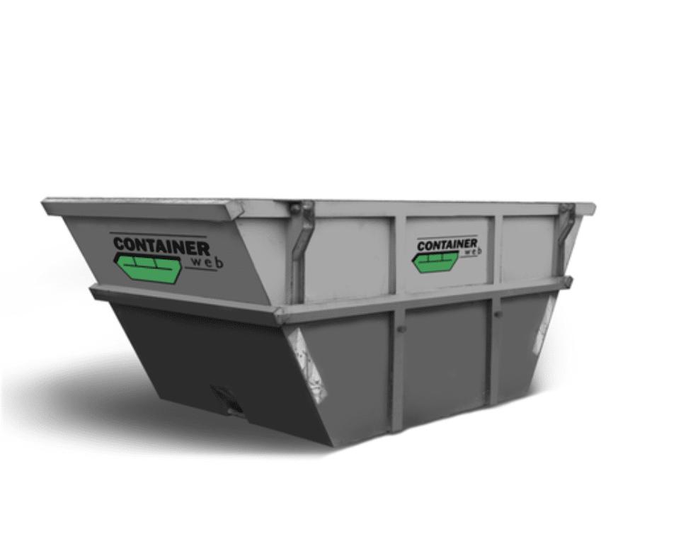 8 kubikk åpen container
